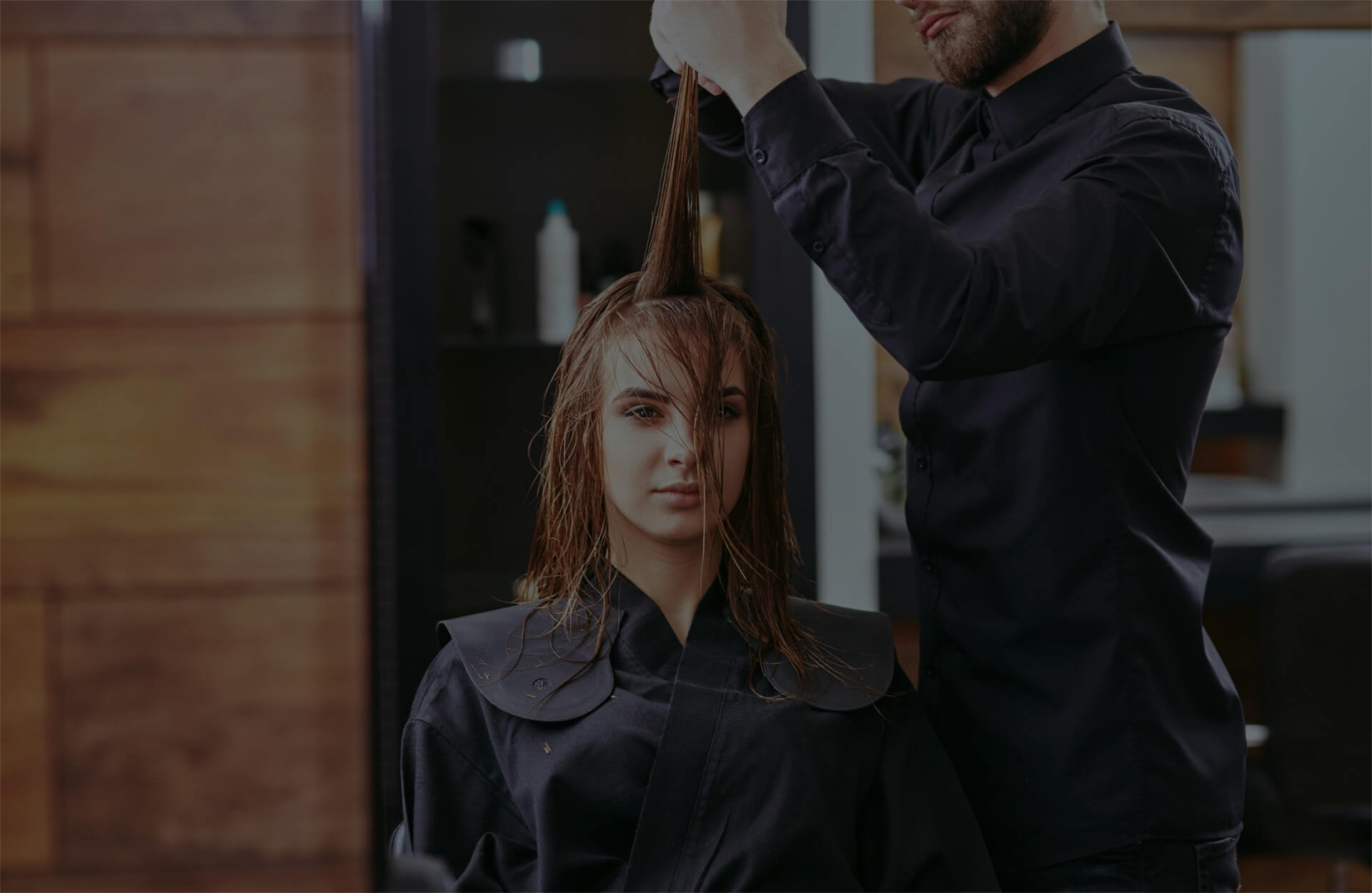 Hairdresser can benefit from BOWWE website builder