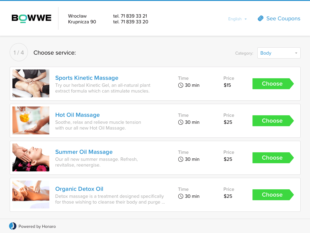 BOWWE meeting scheduling plugin for website builder